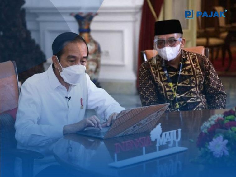 Presiden Joko Widodo Lapor SPT Tahunan Lewat e-Filling