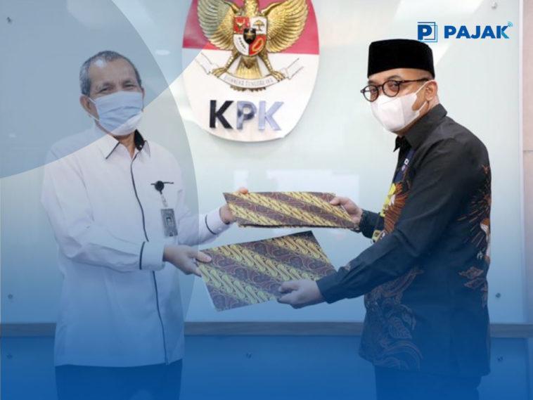 KPK dan DJP Bersinergi Mengoptimalkan Penerimaan Negara Dan Mencegah Tindak Pidana Korupsi