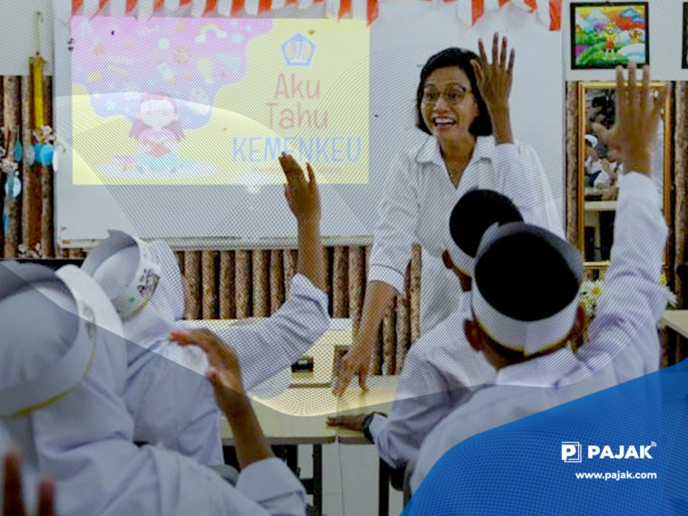 Gelar Olimpiade, Sri Mulyani Ajak Milenial Jadi Duta APBN
